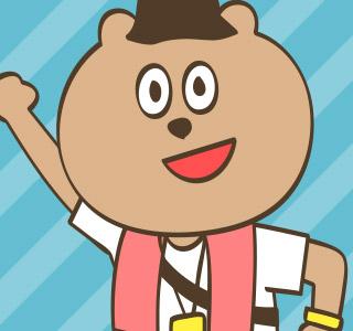 LINEスタンプ,くまのライブフェス好きキッズ!